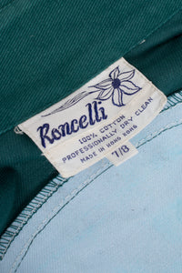 Vintage Roncelli Painted Twill Western Shirt Recess Los Angeles LA