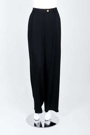 Vintage Sonia Rykiel Crepe Pant Set on mannequin front at Recess Los Angeles