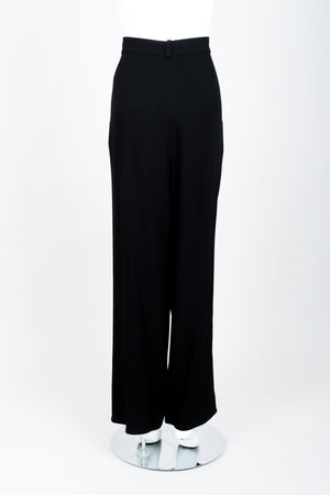 Vintage Sonia Rykiel Crepe Pant Set on mannequin back at Recess Los Angeles