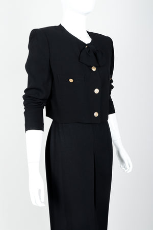 Vintage Sonia Rykiel Chanel Style Boxy Jacket & Pant Suit on Mannequin crop at Recess