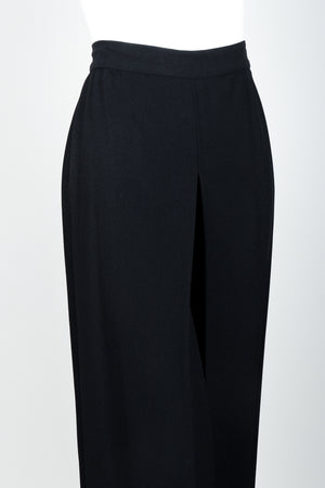 Vintage Sonia Rykiel Chanel Style Crepe Pant Suit on Mannequin front crop at Recess