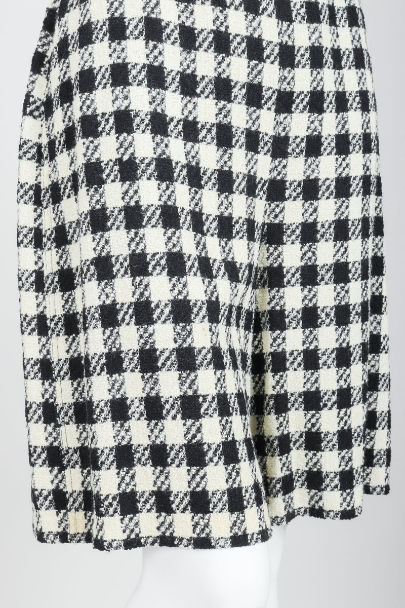 Vintage Sonia Rykiel Bouclé Checked Shorts on Mannequin crop at Recess Los Angeles