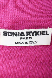 Vintage Sonia Rykiel Label on Magenta