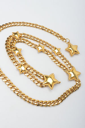 Vintage St. John Starry Draped Chain Belt at Recess Los Angeles