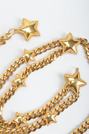 Vintage St. John Starry Draped Chain Belt, stars at Recess Los Angeles