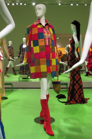 Vintage Todd Oldham Fall 1991 Ultrasuede Patchwork Jacket Skirt Set RISD Museum All Of Everything