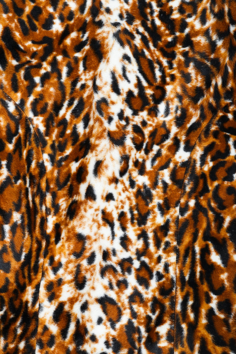 Vintage Todd Oldham Times Seven Faux Leopard Fur fabric