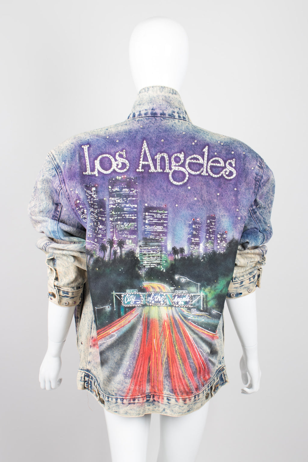 Tony Alamo City Of The Angels Embellished Denim Jacket