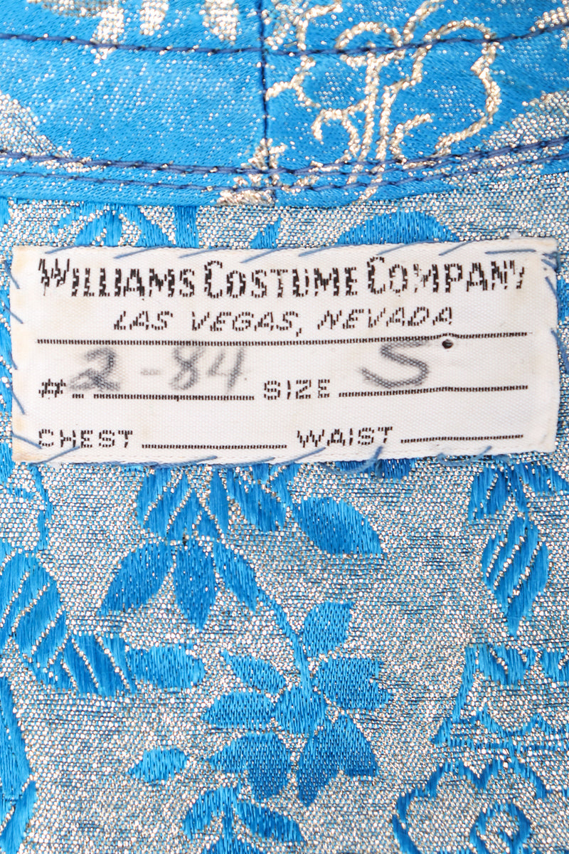 Recess Los Angeles Designer Consignment Resale Recycled Vintage Williams Costume Las Vegas Embellished Brocade Caftan Dress