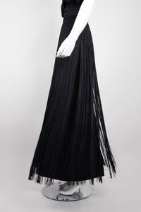 Lilli Diamond Vintage Halter Fringe Dress