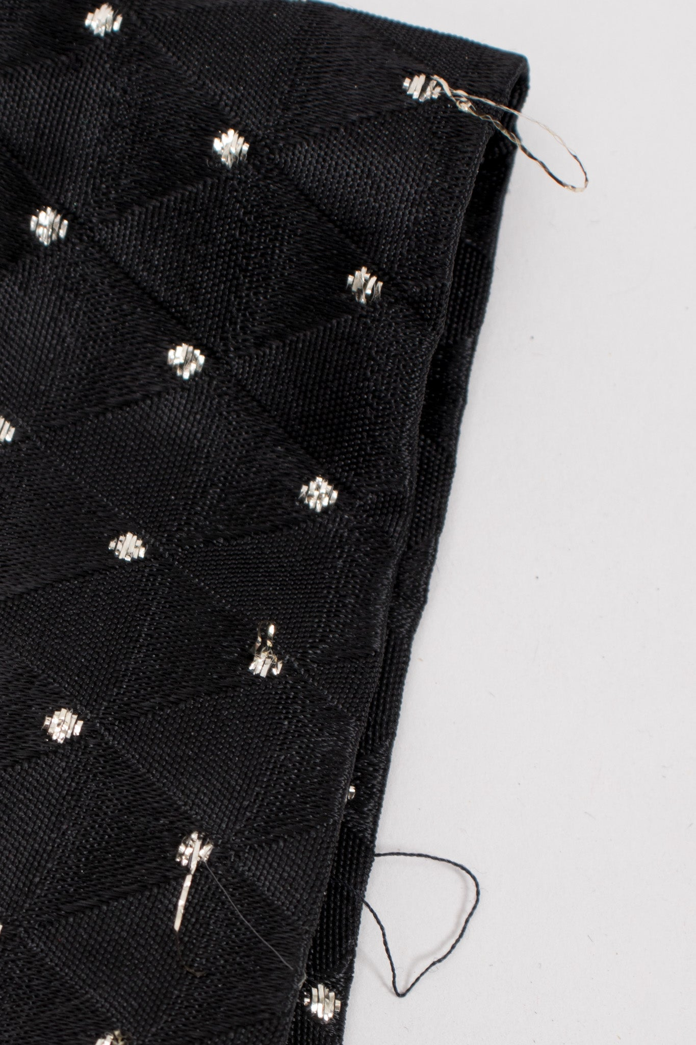 Gold Dotted Ostrich Jacket