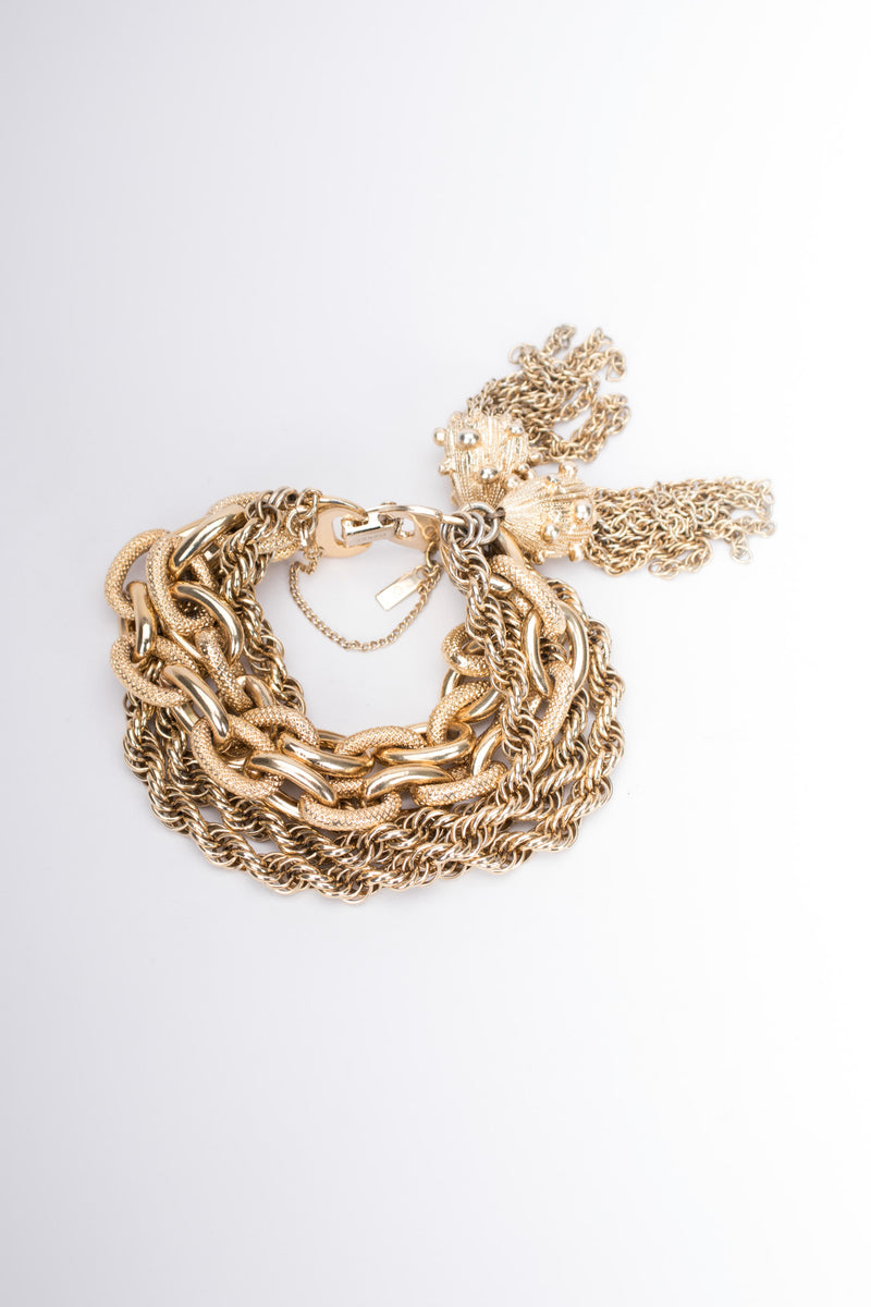 Money Mixed Chain Tassel Vintage Bracelet