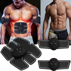 Smart Wireless Muscle Stimulator Fitness Abdominal Training Device Electric Machine Weight Loss Stickers Body Slimming Massager