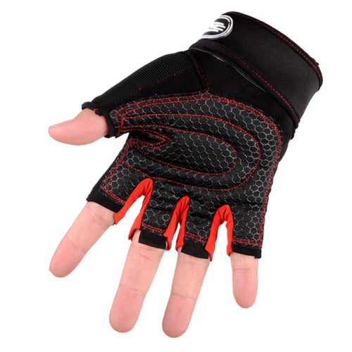 2019 Gloves Gym Body Building Dumbbells Sports Exercise Training Wrist Fitness Weight Lifting Gloves for Men Women