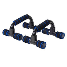Load image into Gallery viewer, 1 Pair Push Up Bar Stand Pushup Board Exercise Training Chest Bar Sponge Hand Grip Trainer Body Building Fitness Equipments