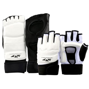 High Quality Taekwondo WTF ITF Ankle Protector Palm Protect Guard Judo Wesing Martial Arts Gloves Boxing Karate Equipment Kids