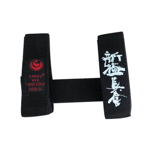 Sinobudo IKO Kyokushin Karate Belt Fixer Karate Kyokushin Kai Belt Fixed retainer Black Belt Fixer
