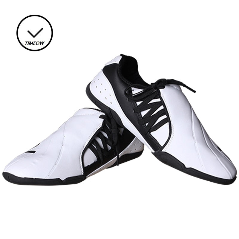 Breathable Soft Rubber Soles Taekwondo Shoes International Karate Association Designated Shoes Instructor Shoes Training Protect