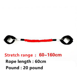 Dropshipping Taekwondo Boxing Pull Rope Fitness Resistance Bands Exercise Tubes Strength Training Rubber Rope Expander Workout
