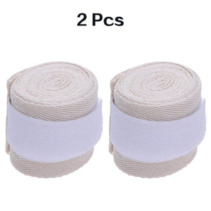 WorthWhile 1 Pair Cotton Kick Boxing Wraps Bandage Men Sanda Taekwondo Muay Thai Guantes De Boxeo MMA Wrist Straps Equipment
