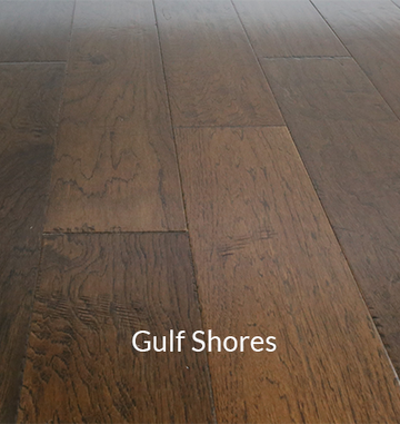 Vintage American Hickory Gulf Shores Engineered Hardwood