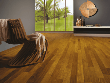 Brazilian Teak Exotic Engineered Hardwood