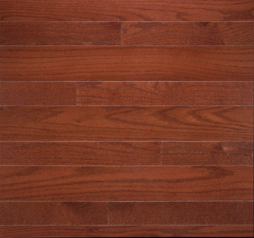 High Gloss Cherry Oak Solid Hardwood