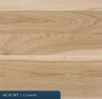 Unfinished Hickory Solid Hardwood
