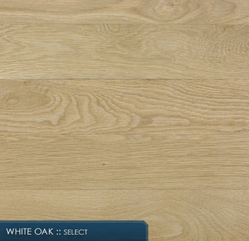Unfinished White Oak Solid Hardwood