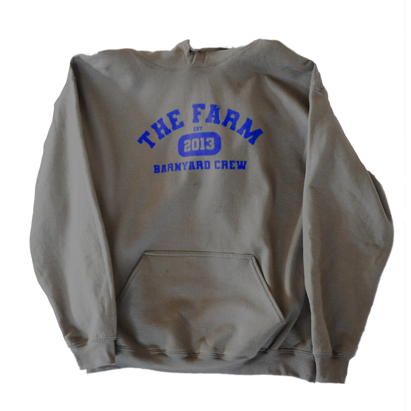 Scooter Farm College Hoodie Charcoal
