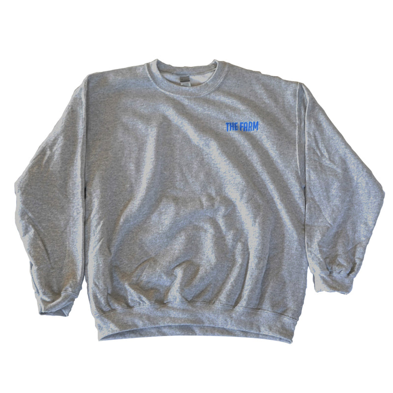 Scooter Farm Crewneck Gray