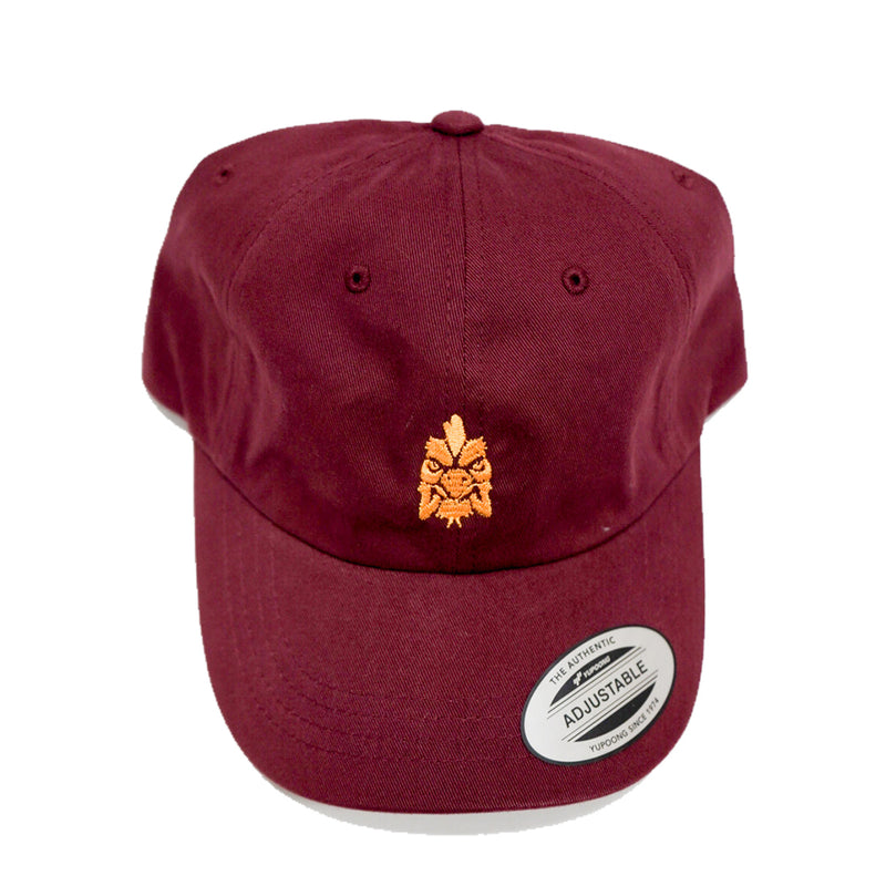 Scooter Farm Dad Hat Maroon