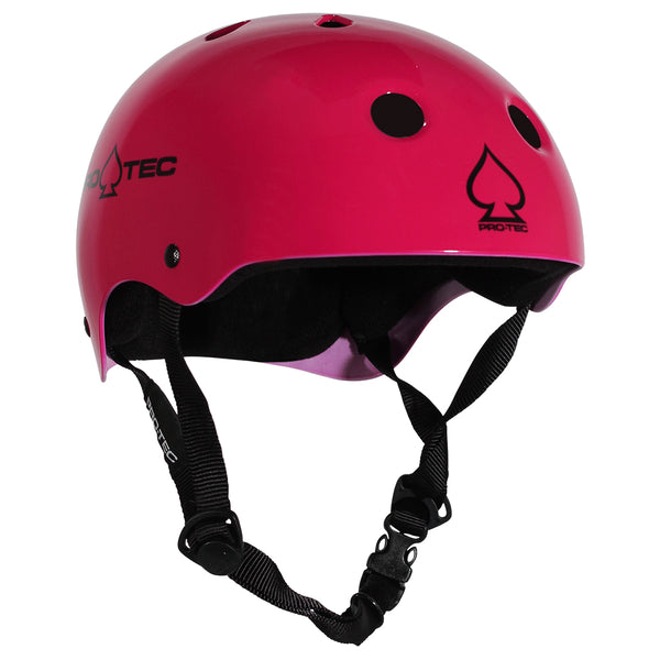 Protec Classic Certified Helmet Gloss Pink