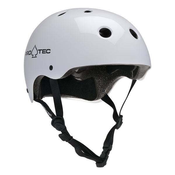 Protec Classic Certified Helmet Gloss White