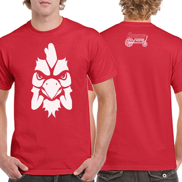 Scooter Farm The Roost Shirt Red