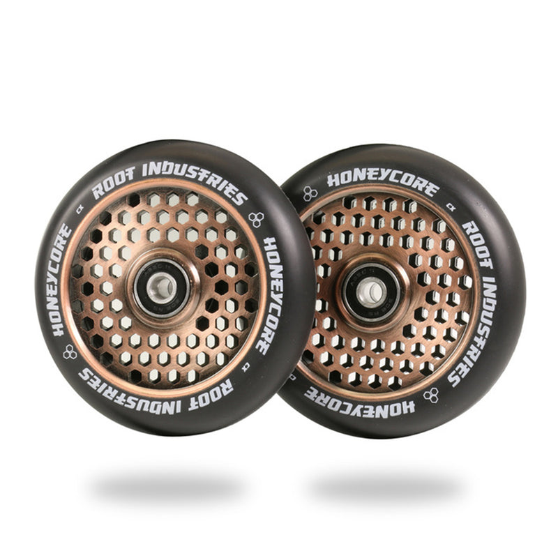 Root Industries Honeycore 110mm Wheels Black PU