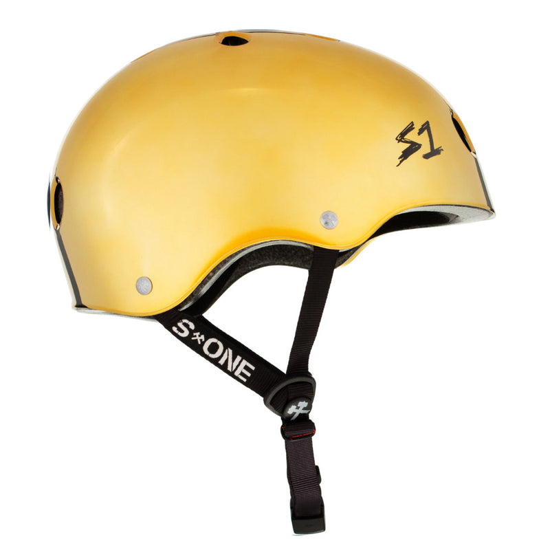 S1 Lifer Helmet Gold Mirror