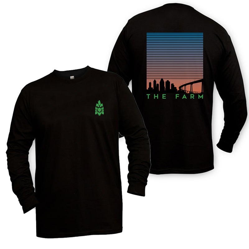 Scooter Farm Skyline Longsleeve