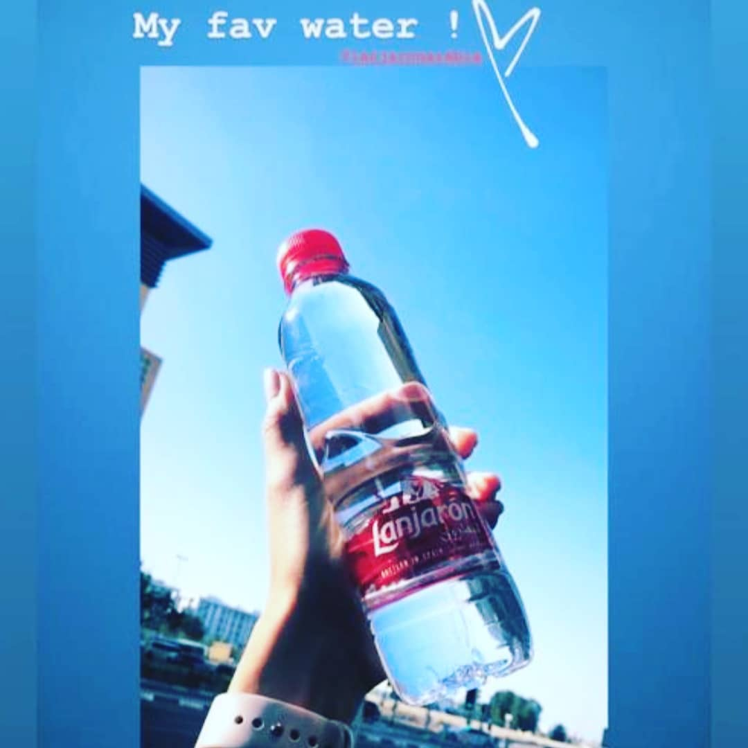 Thanks @lebnorma for choosing Lanjarón mountain mineral water as your favorite. #200yearsofpurity #plasticneverintheheat #bpafree #fullrecyclablepackaging #uaehealthmovement #drinknatural
