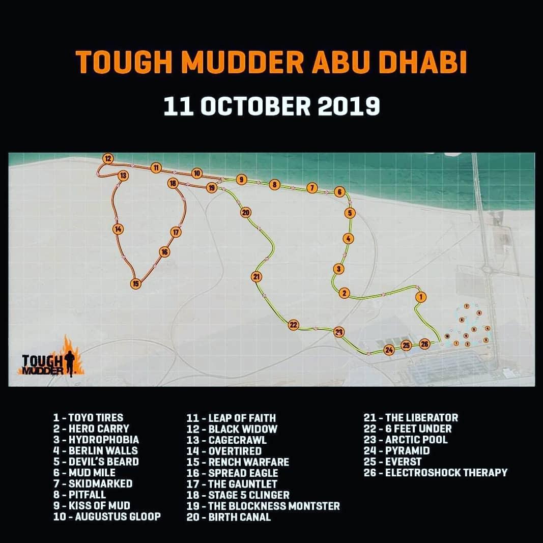 We are honored to be the official sponsor of @toughmudder_uae www.toughmudder.ae