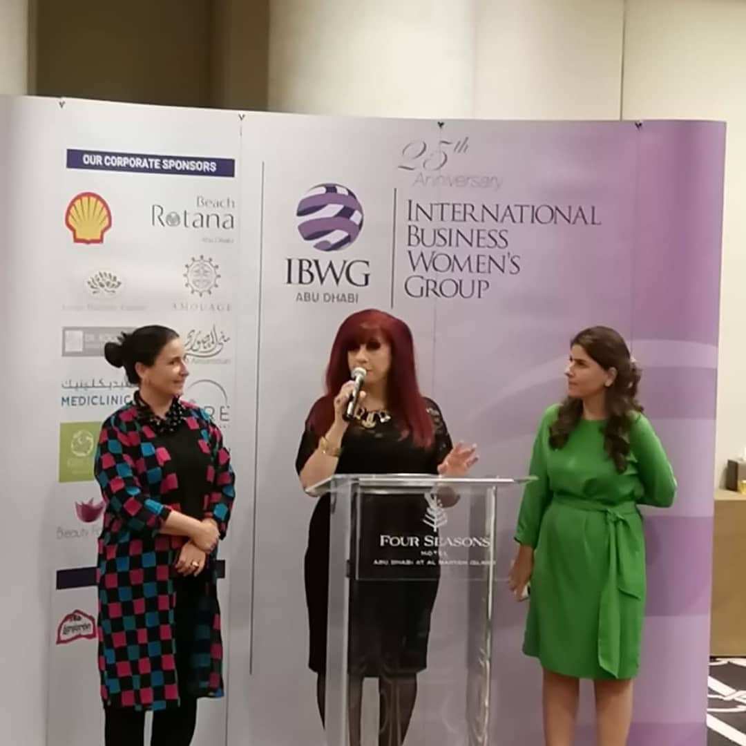"SEP 10 ""Tremendous job as always by @gjonian and @ibwgabudhabi for setting off the fall networking season right with leaders in the women's business community."""