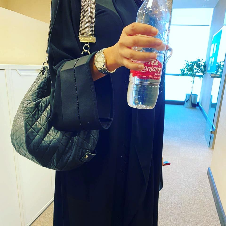 A great fan of our pure natural mineral water, Lanjarón. We're very lucky! #feelthepurity #feelthepurity / Free chilled delivery at www.lanjaronarabia.com