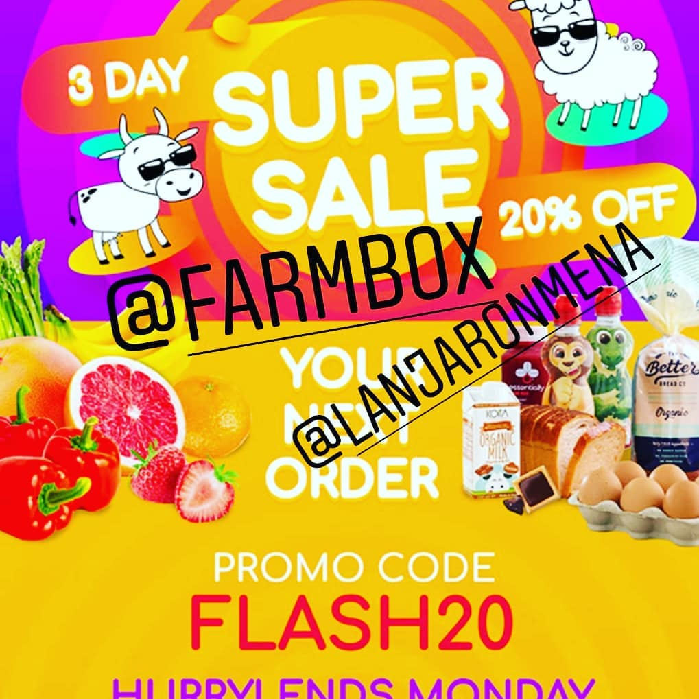 Hurry up and place your order with @farmbox. Special offer ends tonight.