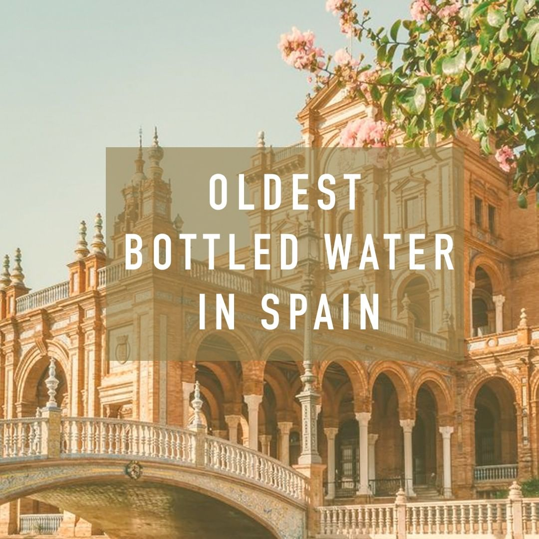 #Lanjaron is the oldest bottled water from #Spain, a natural mineral water from the second highest mountain range in Europe, #SierraNevada. #trivia
