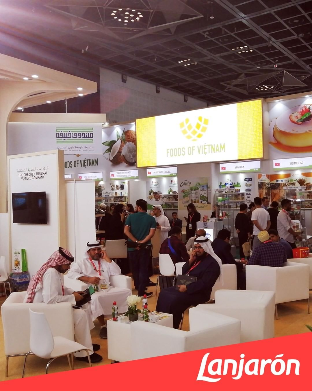 It's been a great week at the biggest annual food exhibition in the world @gulfood
