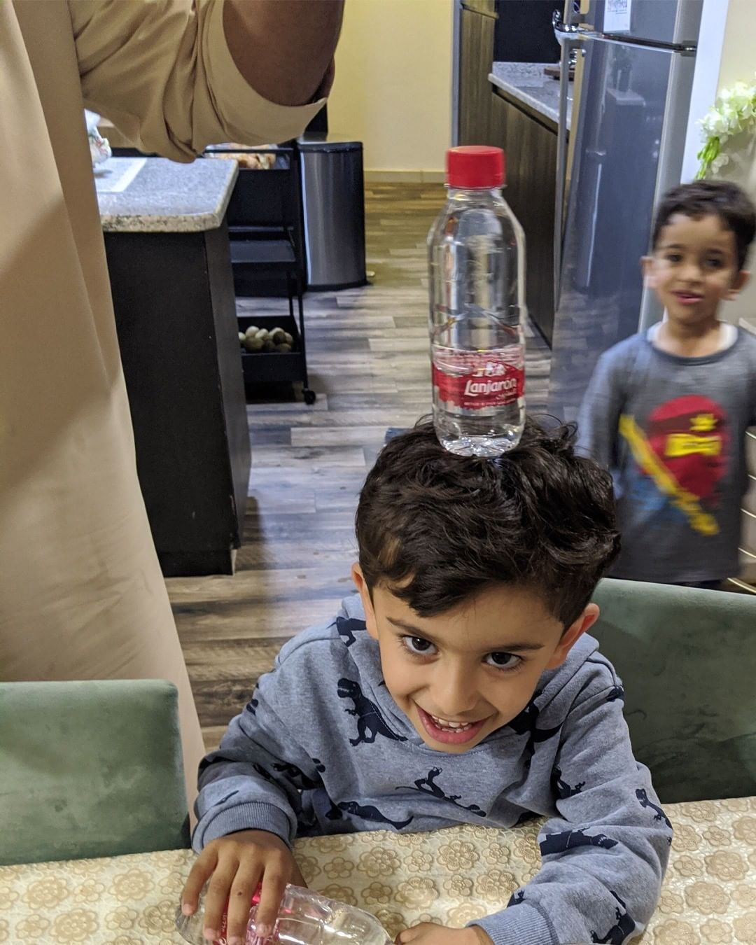 Kids love Lanjarón, its important for them to stay hydrated now more than ever. Keep kids and family home & hydrated with Lanjarón, Pure Natural Mineral Water