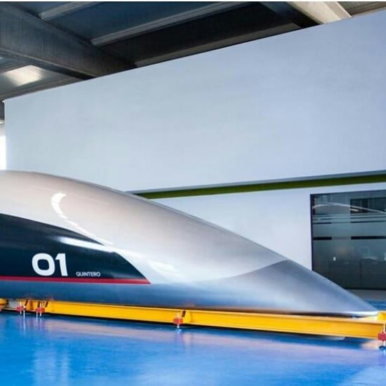 "06 OCT ""THE FIRST FULL-SCALE PASSENGER CAPSULE WAS UNVEILED IN SOUTHERN SPAIN THIS WEEK AND ABU DHABI NOW SEEMS SET TO OPEN A COMMERCIAL SECTION OF TRACK NEXT YEAR."""