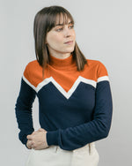 Jersey Winter Peak Orange Neck