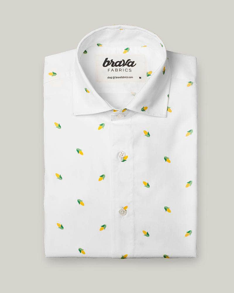 Camisa Estampada Corn Party