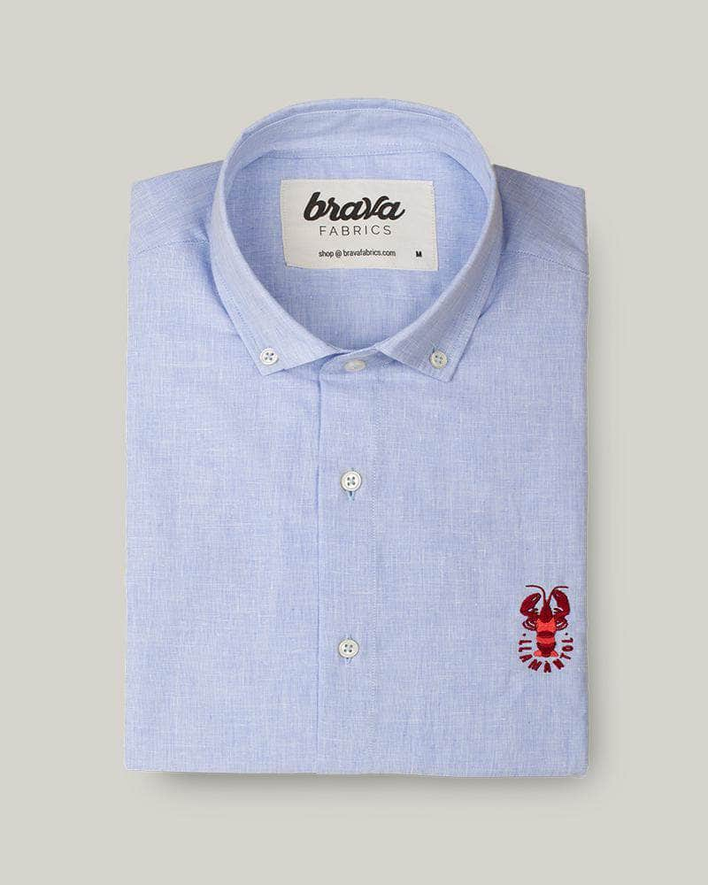 Camisa Crazy Lobster Linen Essential